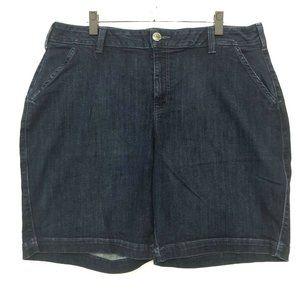 Lane Bryant BERMUDA Denim Jean Shorts Womens 22